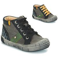 Shoes Boy Boots GBB REINOLD Nuv / Gray black