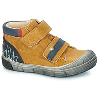 Shoes Boy Mid boots GBB REMI Vte / Ocre tan