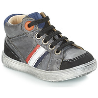 Shoes Boy High top trainers GBB ANGELITO Grey