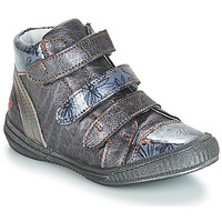Shoes Girl Mid boots GBB RAFAELE Vtv / Grey / Blue