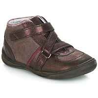 Shoes Girl Mid boots GBB RIQUETTE Brown / Bronze