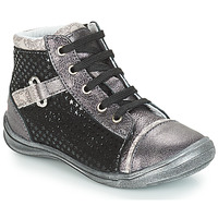Shoes Girl Mid boots GBB ROMIE Vte / Grey
