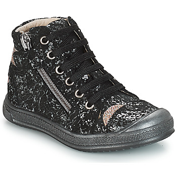 Shoes Girl Mid boots GBB DESTINY Vts / Black gold