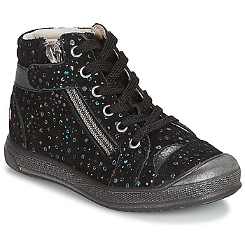 Shoes Girl Mid boots GBB DESTINY Vte / Black