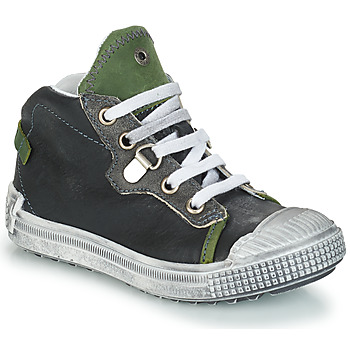 Shoes Boy High top trainers GBB RONALD Grey / Green