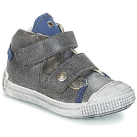 Shoes Boy Mid boots GBB ROMULUS Gray-blue
