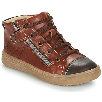 Shoes Boy Mid boots GBB NICO Vte / Fauve