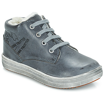 Shoes Boy Mid boots GBB NINO Grey