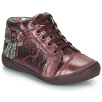 Shoes Girl Mid boots Catimini RHUBARBE Vte / Bordo