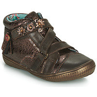 Shoes Girl Mid boots Catimini ROQUETTE Vte / Brown-copper