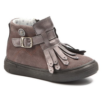 Shoes Girl Mid boots Catimini RUTABAGA Ctv / Wood / De / Pink / Vidal
