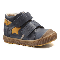 Shoes Boy Mid boots Catimini RADIS Vte / Navy ochre / Linux