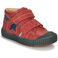 Shoes Boy Mid boots Catimini RADIS Vte / Red/blue / Linux