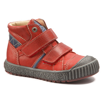 Shoes Boy Mid boots Catimini RAIFORT Vte / Red/blue / Linux