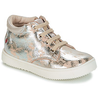 Shoes Girl Low top trainers GBB SACHA Vte / Silver-beige