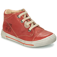 Shoes Boy Mid boots GBB SYLVAIN Red