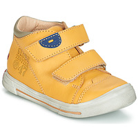 Shoes Boy Mid boots GBB SAMY Yellow
