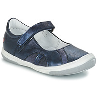 Shoes Girl Ballerinas GBB SYRINE Blue
