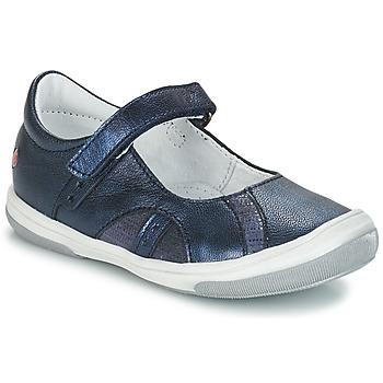 Shoes Girl Ballerinas GBB SYRINE Vte / Marine