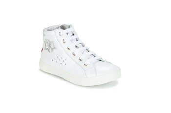 Shoes Girl Mid boots GBB SERAPHINE Vte / White silver