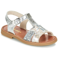 Shoes Girl Sandals GBB SHANTI Vts / Silver
