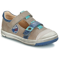 Shoes Boy Mid boots GBB SCOTT Vtc /  bleu / Flash