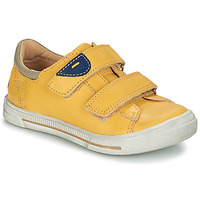 Shoes Boy Mid boots GBB SEBASTIEN Vte / Yellow / Snow