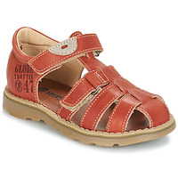 Shoes Boy Sandals GBB PATERNE Vte / Rust