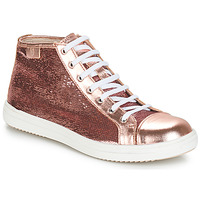 Shoes Girl Mid boots GBB IMELDA Pink/gold