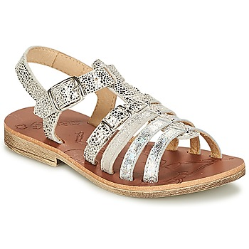 Shoes Girl Sandals GBB BANGKOK Vte / Silver