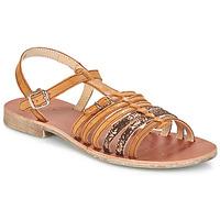 Shoes Girl Sandals GBB BANGKOK Vts / Brown sparkles