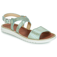 Shoes Girl Sandals GBB ADRIANA Vte / Blue / Gold