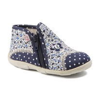 Shoes Girl Slippers GBB PILI Navy flouwer