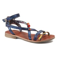 Shoes Girl Sandals Catimini SAPHIR Vte / Navy yellow