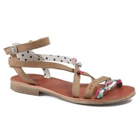 Shoes Girl Sandals Catimini SAPHIR Vte / Brown turquoise