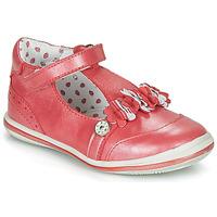Shoes Girl Ballerinas Catimini SANTOLINE Vte / Red / Mother-of-pearl