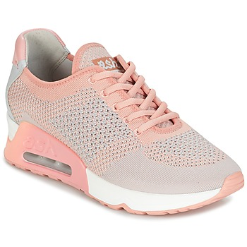 Shoes Women Low top trainers Ash LUCKY Pink