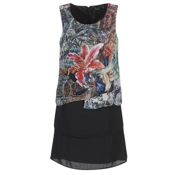 material Women Short Dresses Desigual OULKE Multicolour