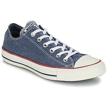 Shoes Low top trainers Converse Chuck Taylor All Star Ox Stone Wash Blue