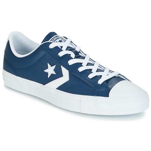 Perfekt kvalite bästa värde stort urval Converse Star Player Ox Leather Essentials Marine - Fast delivery ...