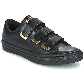 Shoes Women Low top trainers Converse Chuck Taylor All Star 3V Ox SL + Hardware Black / Gold