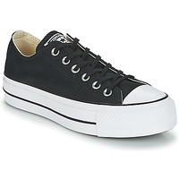 Shoes Women Low top trainers Converse Chuck Taylor All Star Lift Clean Ox Core Canvas Black