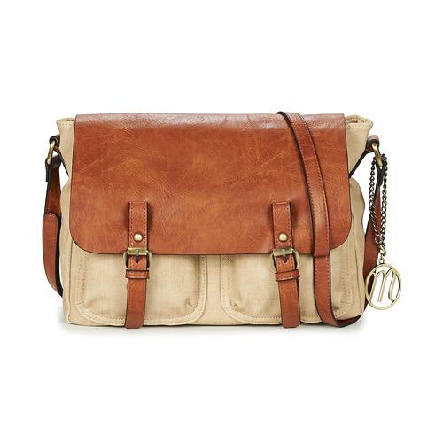 Bags Women Shoulder bags Moony Mood INANOUTE Beige / Cognac