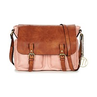 Bags Women Shoulder bags Moony Mood INANOUTE Pink / Cognac