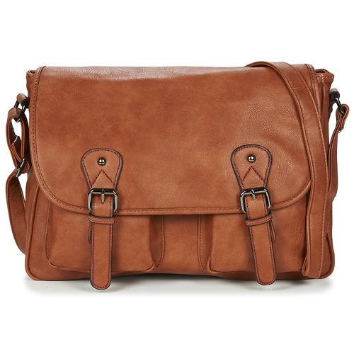 Bags Men Messenger bags Casual Attitude NUDILE Camel