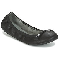 Shoes Women Ballerinas Les P'tites Bombes ELLA VELOUR Black