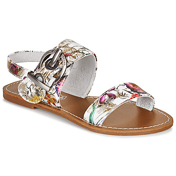Shoes Women Sandals LPB Shoes PERVENCHE White