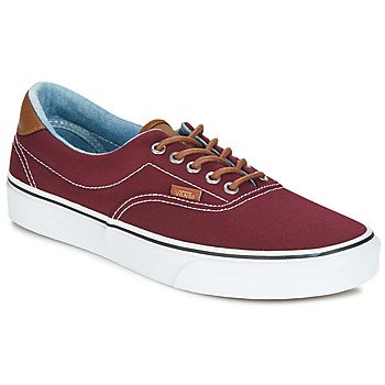 Shoes Low top trainers Vans ERA Bordeaux