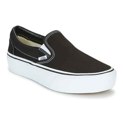 Vans SLIP-ON PLATFORM Black - Fast