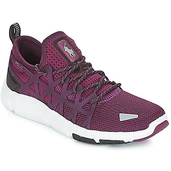 Shoes Women Low top trainers Polo Ralph Lauren TRAIN 200 Violet